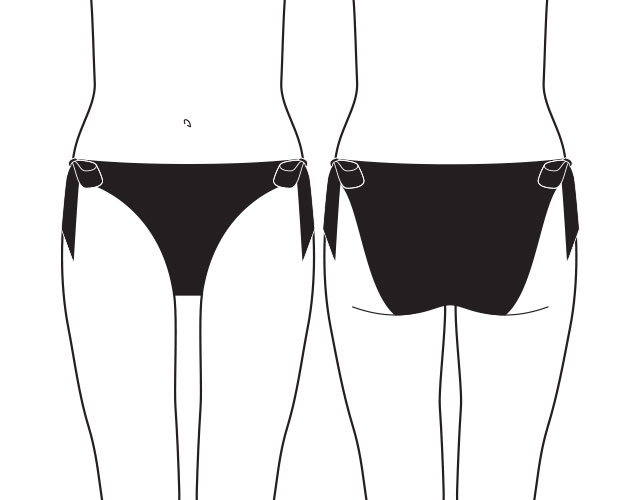 what are tie and bow bikini briefs