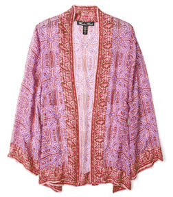 Style oriental morphosis Indian Azalea kimono