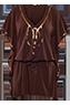 Puritsu brown kaftan