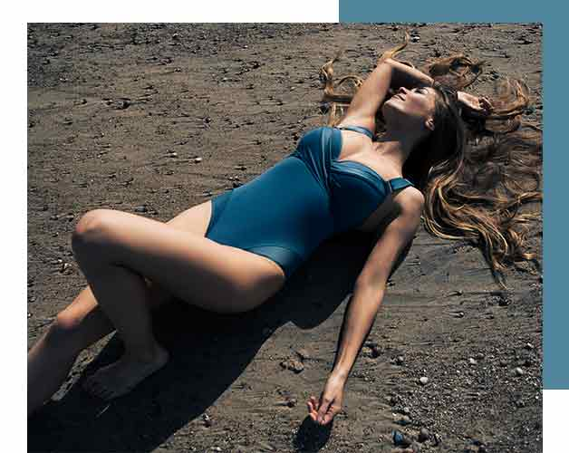swimwear collection cache coeur SS20