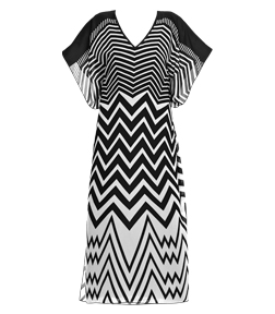 Swimwear Zebra Rock Kaftan