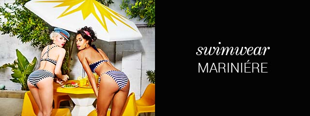SS19 swimwear collection Mariniere