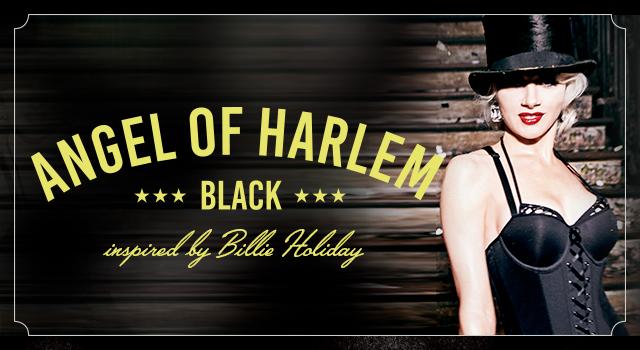 FW19 collection Angels of Harlem Black header banner