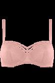 seduction mellow rose balcony bra