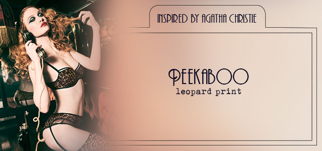 FW20 style collection Peekaboo leopard print header banner mobile