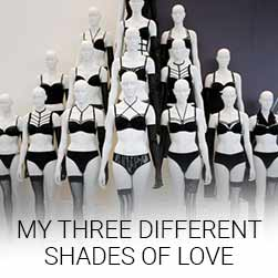 three different shades of love