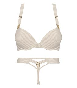 style lingerie collection gloria pristine and gold SS19