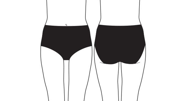 what are high waist briefs