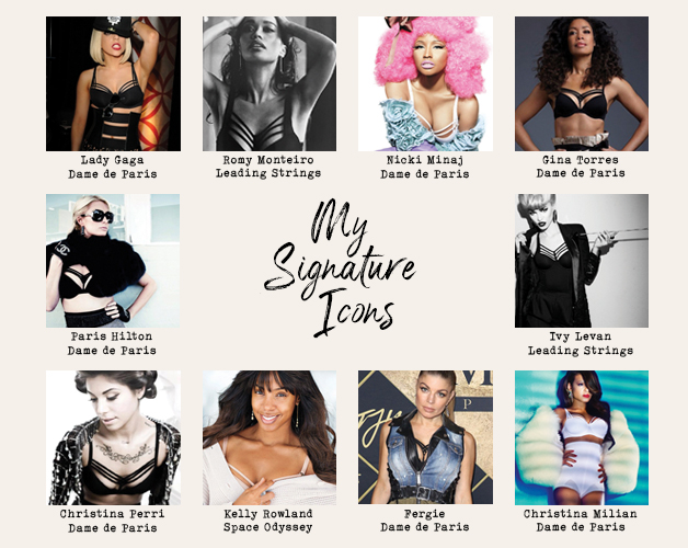 marlies dekkers signature icons banner mobile