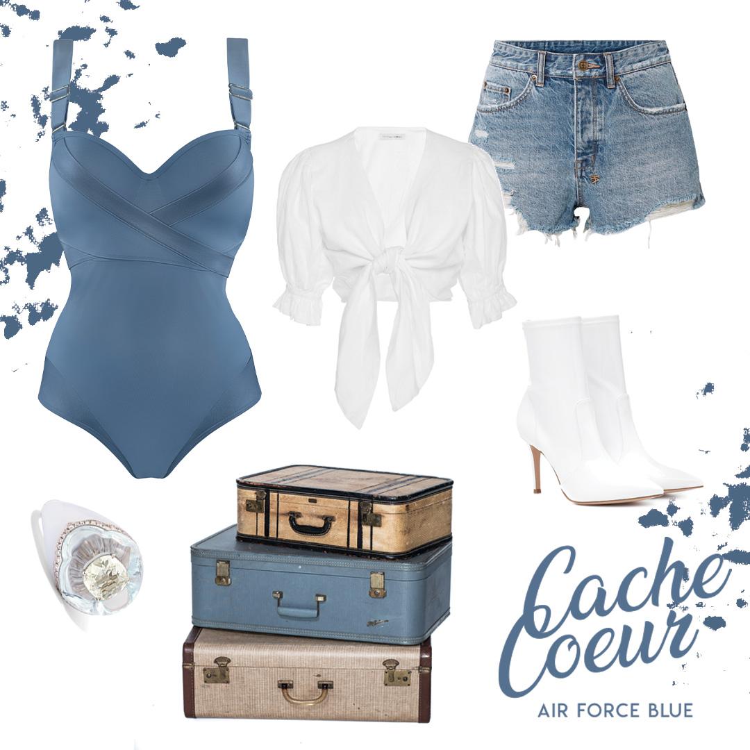 swimwear collection cache coeur SS20